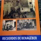 """Un paseo por los orígenes de nuestro pueblo, presentación del libro""""Recuerdos de Benagéber""""."""